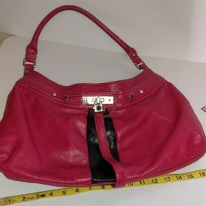 Marc by Marc Jacobs Leather Satchel Bag with Lock